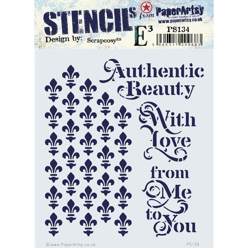 Eclectica scrapcosy  PS134  Authentic Beauty / With Love / image 0
