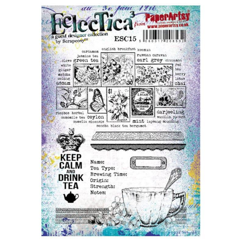 Eclectica scrapcosy  ESC15  Keep Calm and drink tea image 0