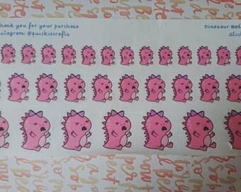 Dinosaur Bad Day Planner Stickers