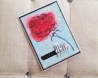 Handmade Card/ friendship Card