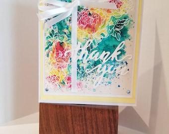 Thank You Card/ Handmade Card/ Greeting Card
