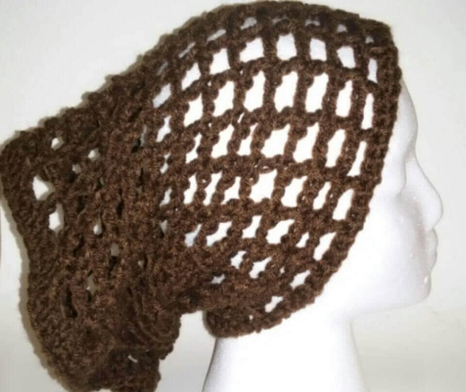 Handmade Crochet Brown Dread Tube Hippie Dread Tube Boho Etsy