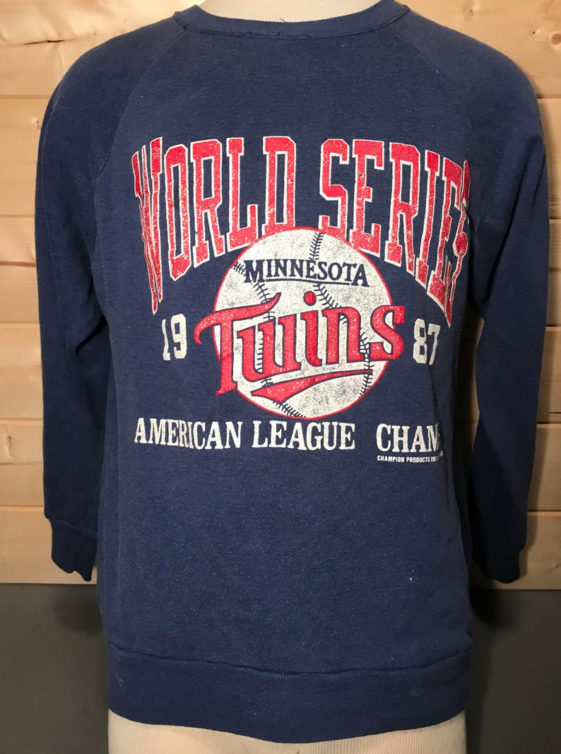 728c02a2d36 Vintage 1987 Minnesota Twins World Series 50 50 T-Shirt
