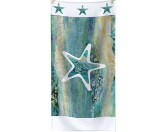 """Towel """"Blue Star Fish"""""""