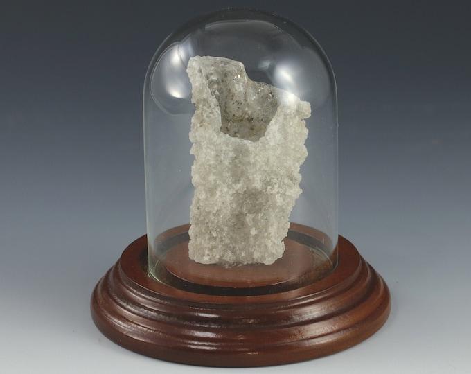 Large Quality White Fulgurite Lightning Sand Glass Tube