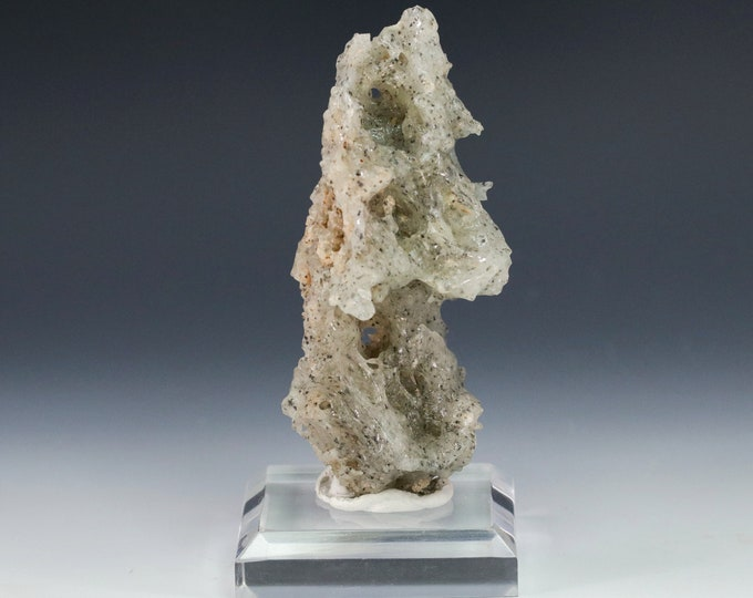 "Fulgurite Lightning Sand ""Sea Froth"" All-Natural Glass Sculpture"