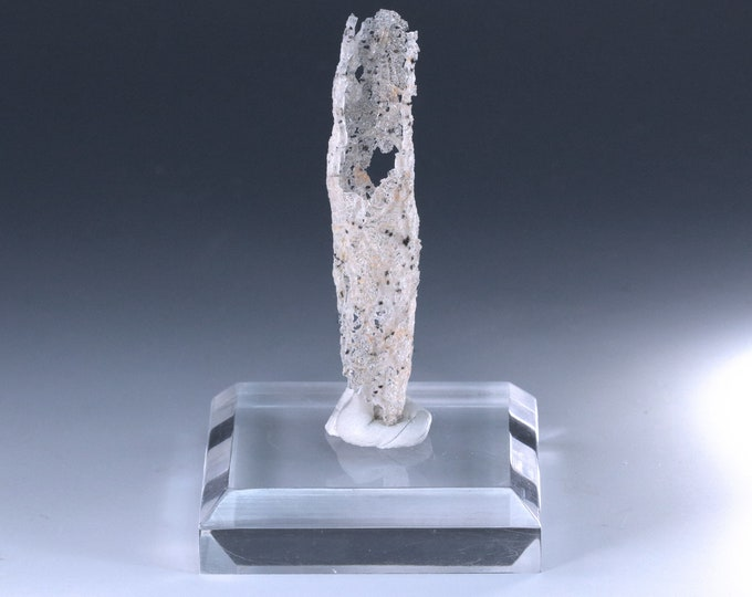 "Fulgurite Lightning Sand Glass Tube ""Skeleton Key"""