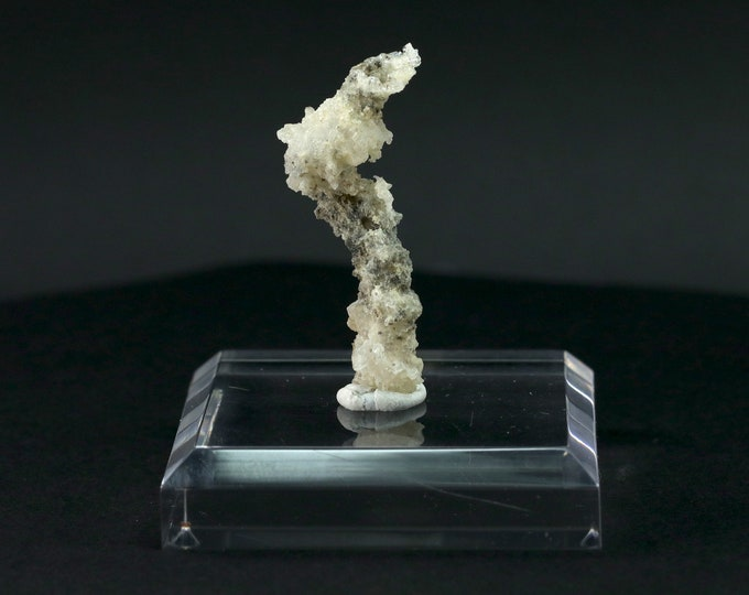 Fulgurite Lightning Sand Twisted Shape