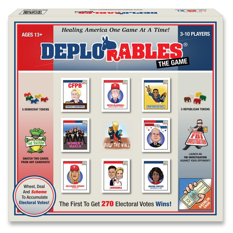 Deplorables Election Game : Watch Video BRAND NEW Election image 0