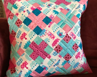 Quilted Princess Pillow Case