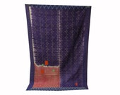 Queen Size kantha quilt, kantha throw, vintage kantha quilt, blanket, indian throw, reversible,kantha bedspread, Bedding