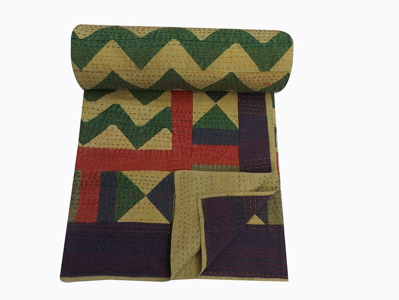 Handmade applique patchwork embroidered etsy