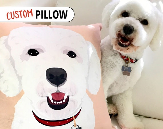 Coworker Gift Custom Pet Pillow Mother Birthday Idea