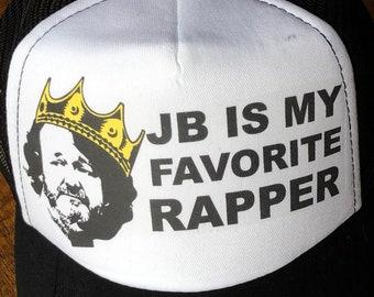 Widespread Panic Hat-JB is my Favorite Rapper-Trucker Style Snapback Hat acd70e081b78