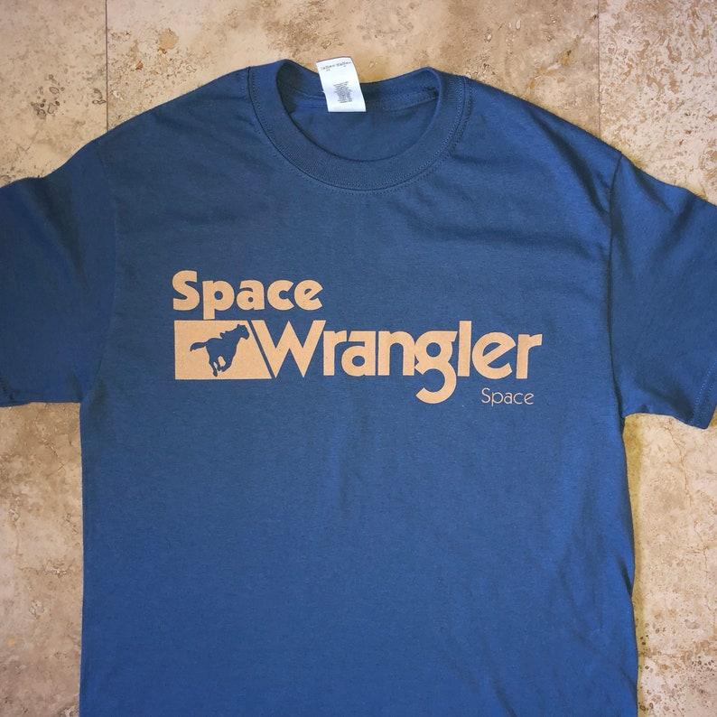 8fd190517850a Widespread Panic Shirt-Space Wrangler Lot Shirt-Adult Uni T Shirt Sizes S M  L XL XXL-Indigo Blue T Shirt