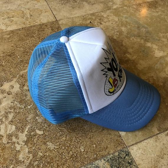 Widespread Panic Hat-Yo JB Raps-Trucker Style Snapback Hat-Sky  68edc6ac1b92
