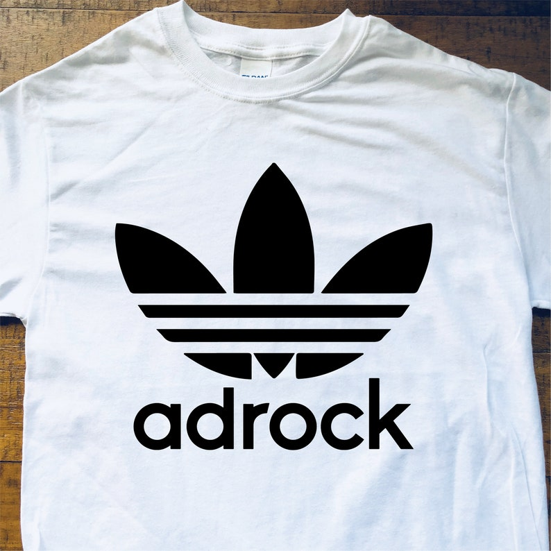 b06f41c188c95 BB Shirt-Adrock-White & Black-Adult Uni T Shirt Sizes S M L XL 2XL 3X 4X  5X-White T Shirt