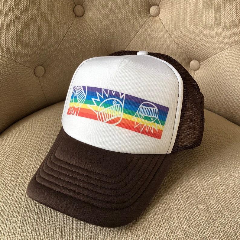d6566ef8e66 Ween Hat-Homo Rainbow-Trucker Style Snapback Hat