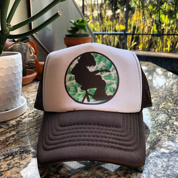 Widespread Panic Inspired Hat-Mikey Palm Leaf-Trucker Style da0953ee72eb