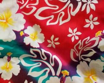 2cd8bfb3db66e Hawaiian Rainbow Tropical Polynesian Sarong Pareo Wrap