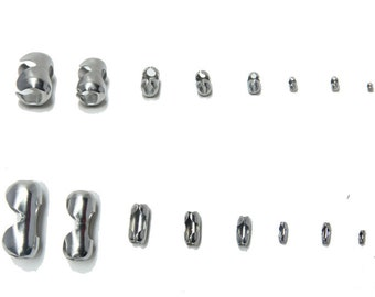 10pcs 9x5.5mm Surgical Stainless Steel Lobster Claw Clasps Connectors Findings