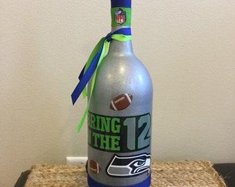 Seattle Seahawk Bottle Light