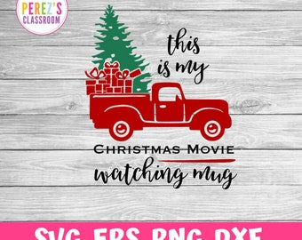 Hallmark Christmas Shirt Svg.Hallmark Christmas Movie Svg Etsy