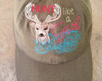 Hunt Like a Girl Baseball Cap