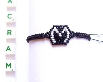 Macrame bracelet, friendship bracelet, personalized bracelet, woven bracelet, initial bracelet, summer bracelet, gift for her,