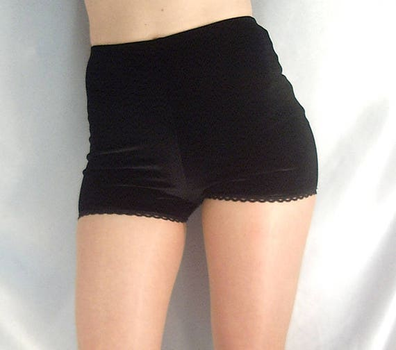 high waisted velour shorts