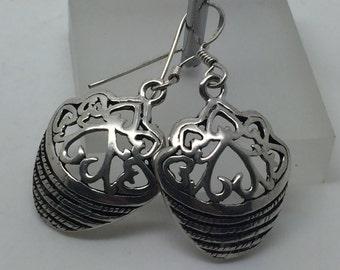 silver dangle earrings,silver drop earrings,silver jewelry,ethnic earrings,gypsy earrings,drop earrings,silver jewelry,boho earrings