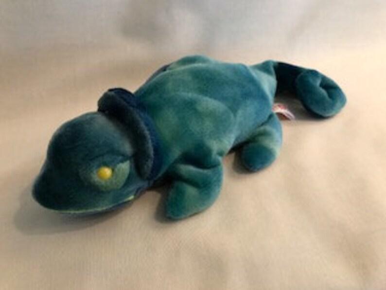 1521c1e7629 Beanie Babies Rainbow Chameleon 1997 Ty Inc.