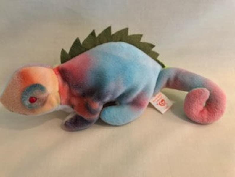 9661ce9f384 Beanie Babies Iggy Iguana 1997 Ty Inc. Iguana