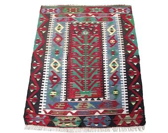 150x80 cm 59x31 inches Red Field Funky Design oushak rug Tribal Rug Allover  Design Handmade Rug 4/'11 x 2/'7 ft Oushak Carpet pink rug
