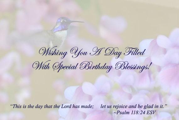 Tarjeta de felicitación del feliz cumpleaños colibrí de Ana | Etsy