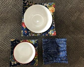Quilted Potholder Bowls
