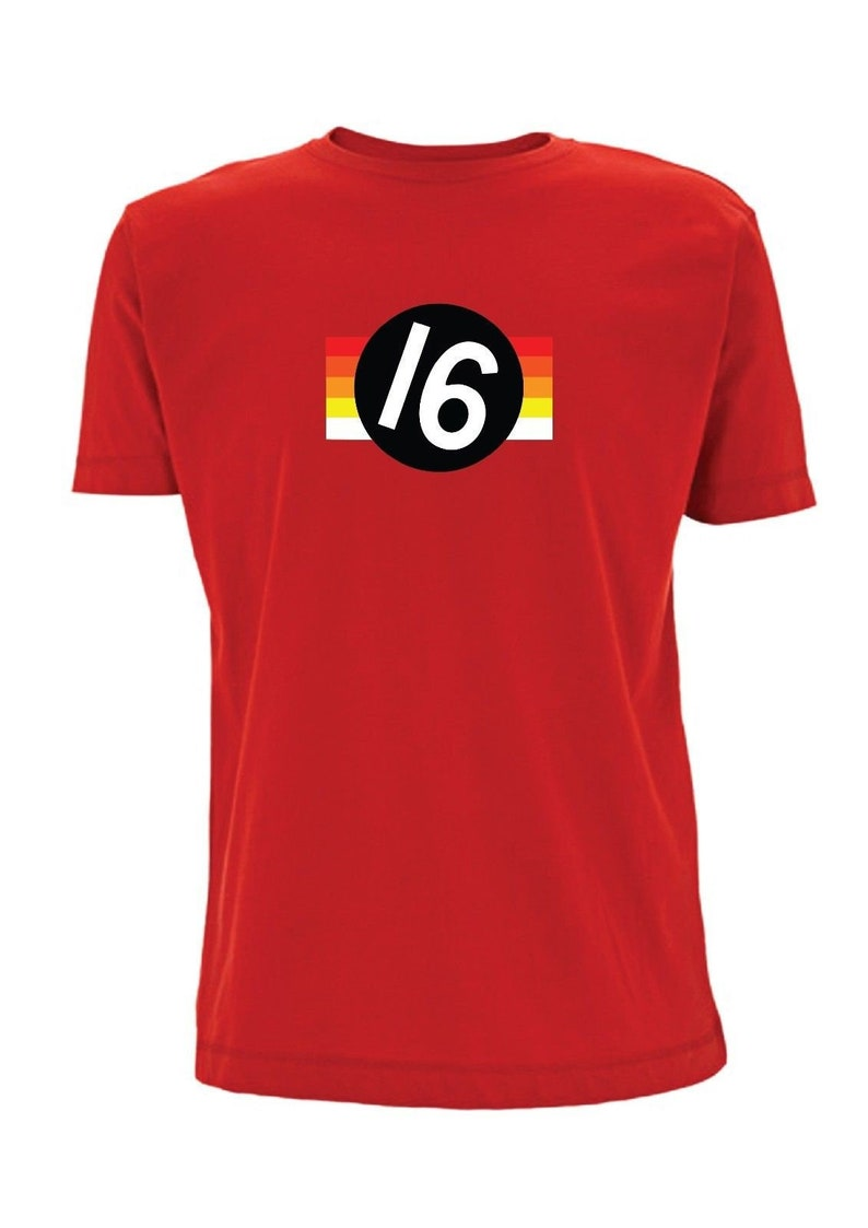Vettel 5 F1 T shirt Sebastian Formula 1 Racing German Flag Racing Seb Number 5