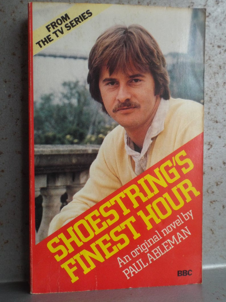 Shoestring's Finest Hour by Paul Ableman BBC Publications 1980 Paperback  Book 204 Pages Private Ear