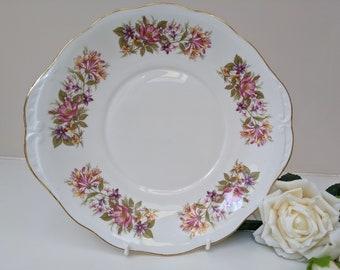 Colclough Wayside BreadCake Plate