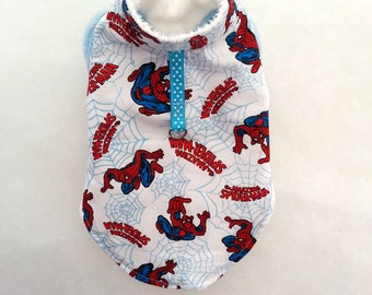 Chihuahua jumper, small dog clothes, Spider web jumper, puppy clothes, Dog coat, Chihuahua harness XXS, XS