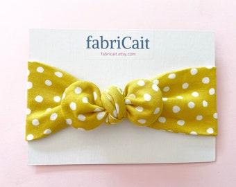 Yellow Bow Headband. Yellow Polkadot Headband. Yellow Polka Dot Headband. Yellow Baby Headband. Yellow Polkadot Bow. Yellow Polka Dot Bow.