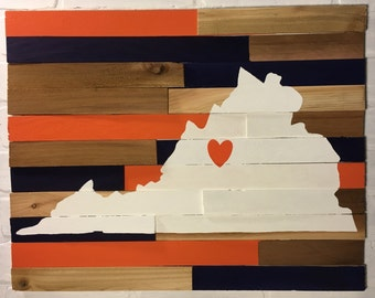 Virginia School Spirit Wall Art