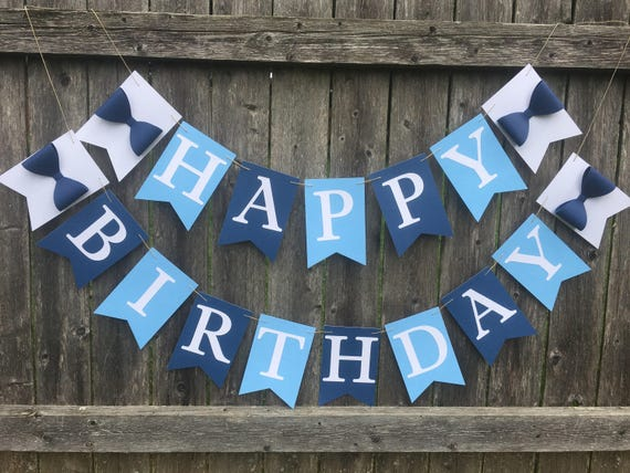 boy birthday banner little man birthday banner happy birthday