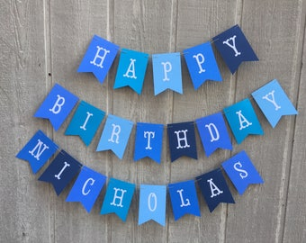 Little Blue Truck Birthday Banner. Little Blue Truck Birthday Decorations. Fully Assembled Little Blue Truck Birthday Party Banner.