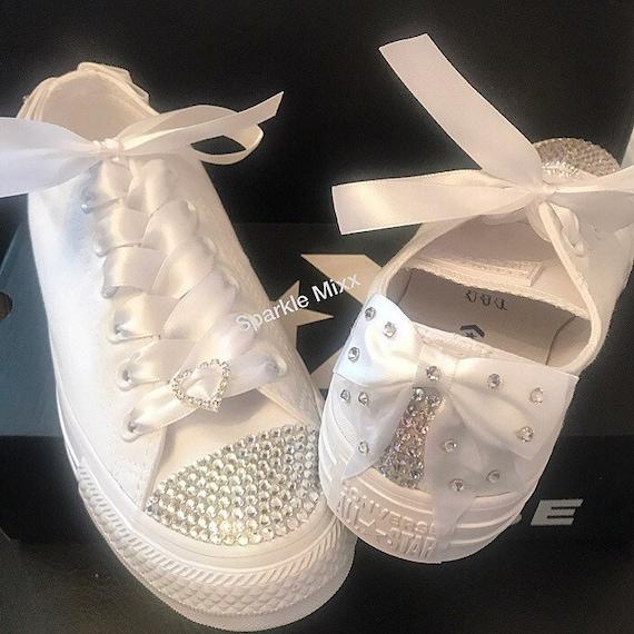 Crystal Toe sparkly Converse