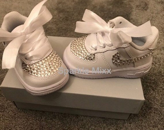 Nike AIR FORCE 1 MID TODDLER White Free Delivery with