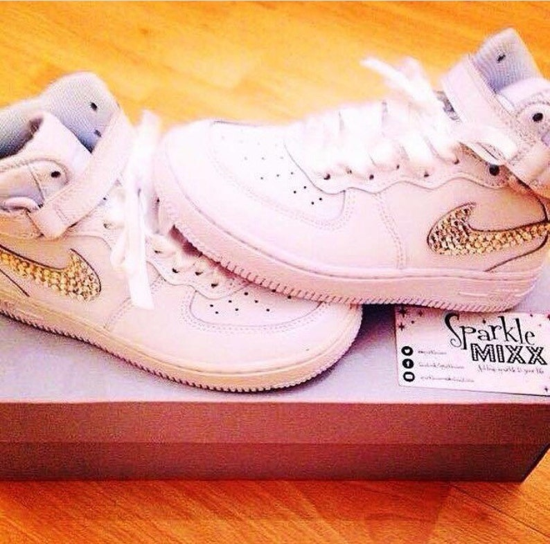 Nike Adults 1's Crystallised Air Force Bling 4RjLA5