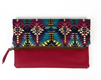Leather Foldover Clutch, Leather Clutch, Clutch Purse, Clutch Bag, fold over clutch, Foldover Clutch, Leather Clutch Bag, Clutch Wallet