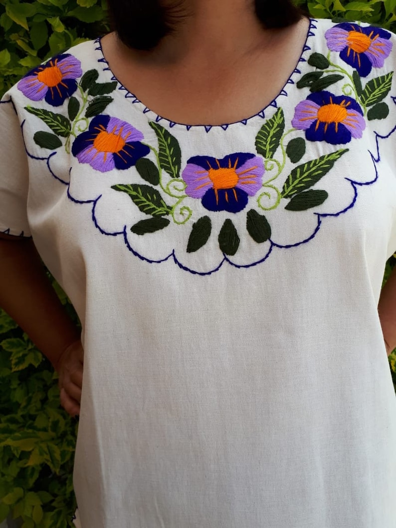 c1534ff3afd493 Traditional Mexican Embroidered Blouse « Alzheimer's Network of Oregon