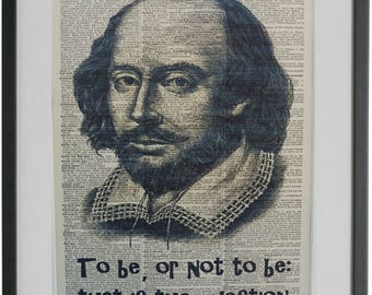 Shakespeare Print No.303, shakespeare quotes, shakespeare art, william shakespeare, shakespeare gifts, shakespeare poster